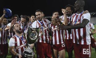 Mathieu Valbuena, l'une des pierres angulaires du doublé réalisé par l'Olympiakos la saison dernière.