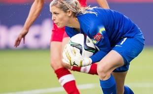 Erin Nayler fait partie des quatre joueuses étrangères de la section féminine des Girondins de Bordeaux.