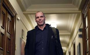 Yanis Varoufakis, à Athènes en Décembre 2014