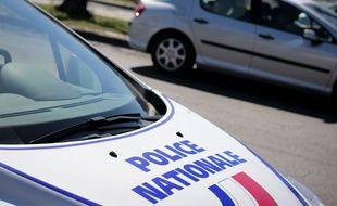 Une voiture de police (illustration).
