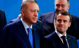 Erdogan et Macron (Archives)