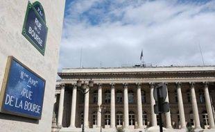 L'ancienne Bourse de Paris