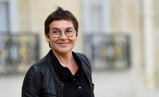 La ministre des Outre-mer, Annick Girardin, le 9 octobre 2019 à l'Elysée.
