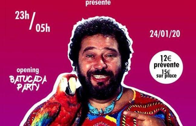 Feu Carlos, chanteur français populaire, pour illustrer la soirée BigBada'2