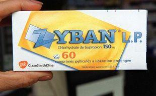 Une boîte du médicament Zyban