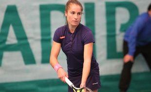 Jade Suvrijn, défend les couleurs de Montpellier aux Interclubs.