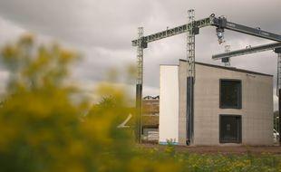 Une maison construite à l'aide d'une imprimante 3D en Belgique