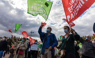 Manifestation anti-PMA à Lyon