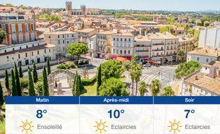 Météo Montpellier: Prévisions du mardi 10 décembre 2019