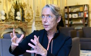 Elisabeth Borne, ministre de la transition écologique et solidaire, à l'Hôtel Roquelaure le 29 novembre 2019.