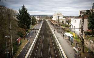 Une gare SNCF en Ile-de-France. (Illustration)