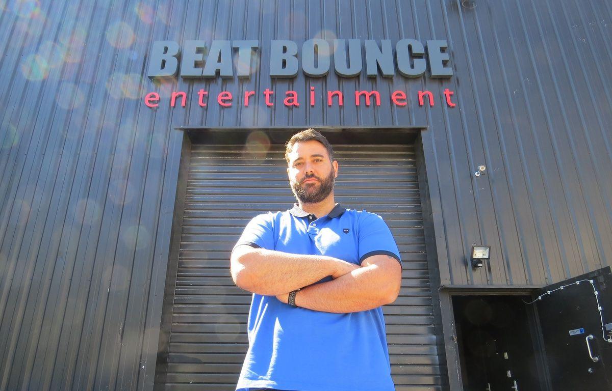 Mike Ponticelli devant les studios de Beat Bounce  – Adrien Max / 20 Minutes