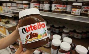 Un pot de pâte à tartiner Nutella