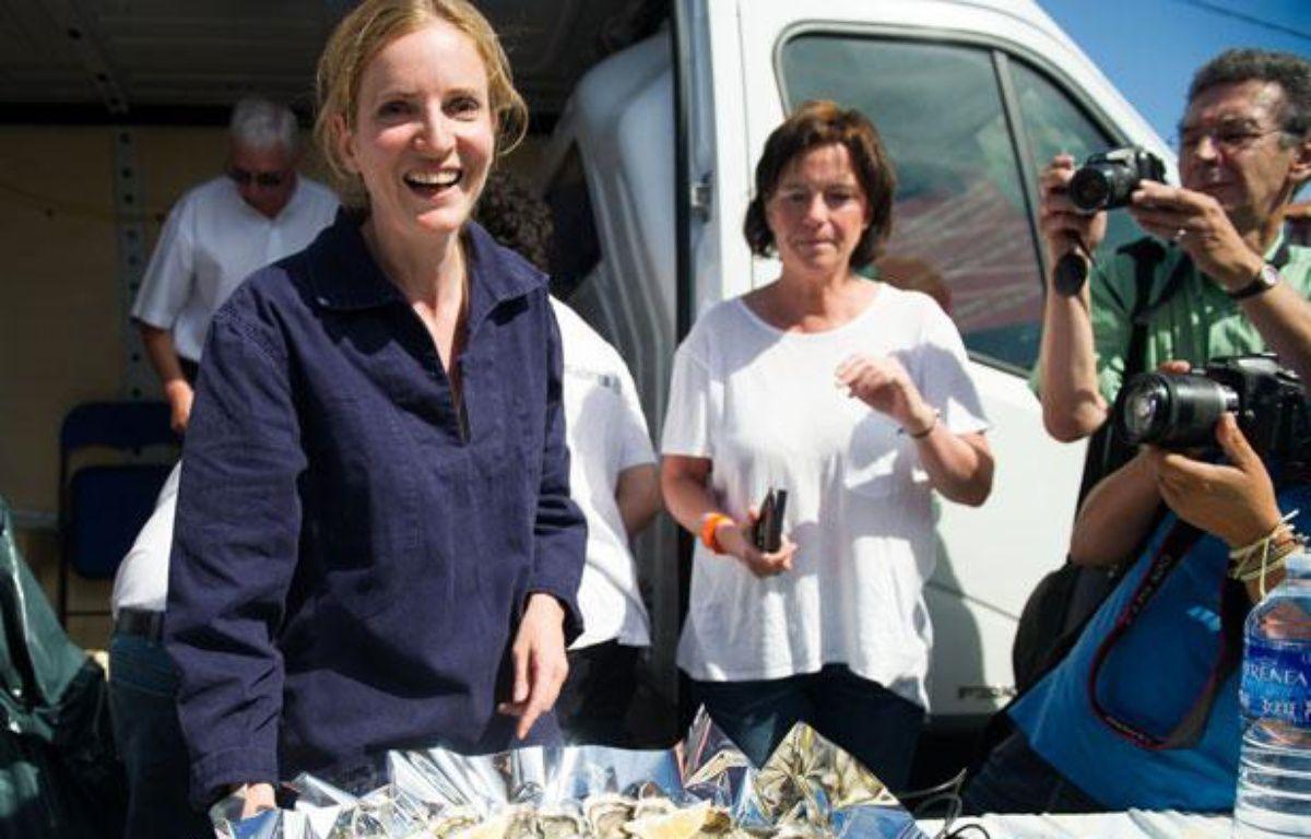 Nathalie Kosciusko-Morizet, qui vise la direction de l'UMP, était à Lège-Cap-Ferret en Gironde, le 16 août 2012 – DUPUY FLORENT/SIPA
