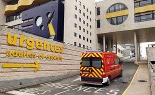 L'entrée du service des urgences de l'hôpital Victor Provot à Roubaix