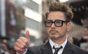 Robert Downey Jr à Londres, le 18 avril 2013.