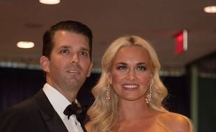 Donald Trump Jr. et sa femme, Vanessa Trump le 30 avril 2016 à Washington.