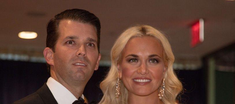 Donald Trump Jr. et sa femme, Vanessa Trump le 30 avril 2016 à Washington.