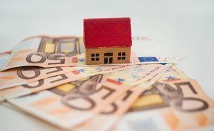 Illustration d'un crédit immobilier.