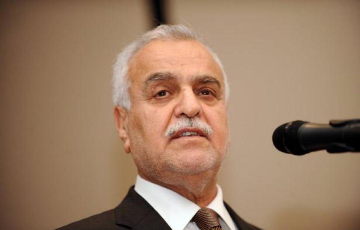 Le procès du vice-président irakien Tarek al-Hachémi, jugé par contumace à Bagdad pour avoir commandité des assassinats, a été ajourné dimanche, le temps pour la cour d'appel fédérale de se pencher sur une question de procédure. – Bulent Kilic afp.com
