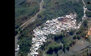 6.000 personnes étaient regroupées sur l'ancien site minier de Portes, dans le Gard, pour un Teknival illégal.