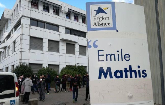 Le lycée Emile-Mathis se trouve à Schiltigheim, au nord de Strasbourg, dans le Bas-Rhin.