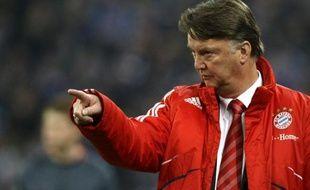 L'entraîneur du Bayern Munich, Louis Van Gaal, lors d'un match contre Schalke04, le 4 avril 2010.