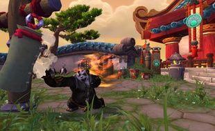 Un «Pandaren» de World of Warcraft: Mist of Pandaria.