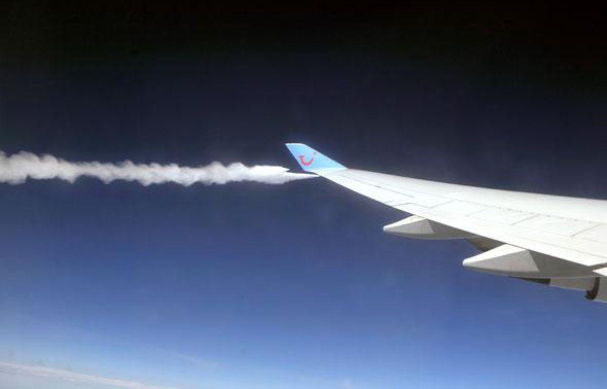 Le Boeing 747-300 de la compagnie Corsair acheminant 580 passagers, dont une vingtaine de journalistes, vers la Martinique le 24 juin 2009, a dû faire demi-tour. –  AFP PHOTO / ERIC FEFERBERG