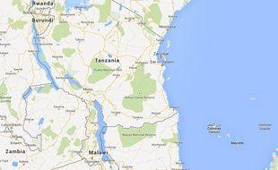 Capture d'écran de la Tanzanie.