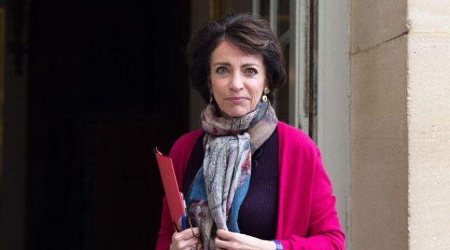 Marisol Touraine le 31 janvier 2014 devant l'Hôtel Matignon.  – REVELLI-BEAUMONT/SIPA