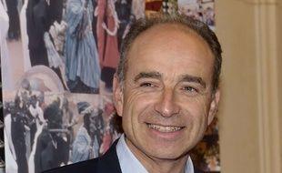 Jean-François Copé, maire de Meaux, lors de l'hommage rendu a Jean-Claude Brialy a l'occasion du 10e anniversaire de son décès, à Paris le 20 novembre 2017