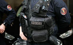 Un policer. (Illustration)