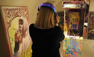 Le graffeur Pleks participe à cette première exposition