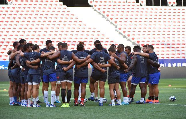 Coupe du monde de rugby 2019: Le XV de France est arrivé au Japon (en même temps qu'un typhon)