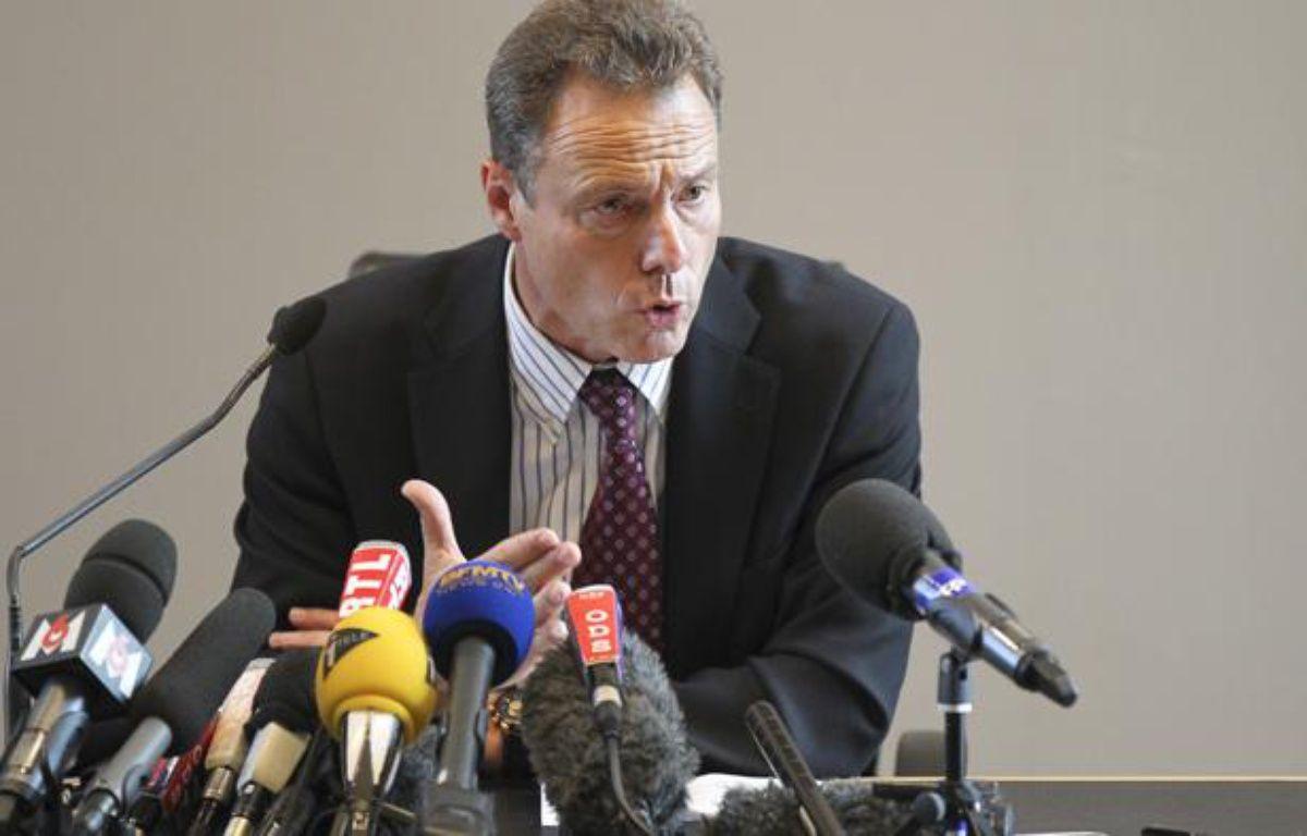 Le procureur de la République d'Annecy, Eric Maillaud, le 8 septembre 2012. – C. VILLEMAIN / 20 MINUTES