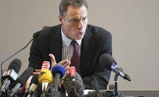 Le procureur de la République d'Annecy, Eric Maillaud, le 8 septembre 2012.