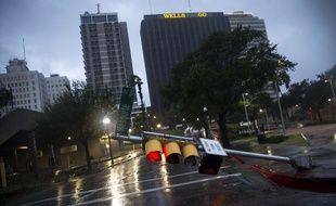 L'ouragan Harvey a déjà touché la ville de Corpus Christi au Texas.