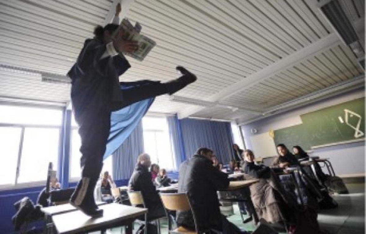 Les Brigades de lecture interviennent d'abord à l'improviste dans les classes, avant d'entamer un travail pédagogique sur l'année. –  J.-S. Evrard / 20 Minutes