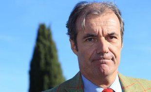 Luc Jousse, maire UMP de Roquebrune-sur-Argens (Var), le 5 décembre 2013. Il a été suspendu.