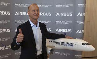 Tom Enders, le président exécutif d'Airbus. (Illustration)