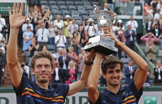 Roland-Garros 2018: La voilà la France qui gagne, Mahut et Herbert remportent le tournoi en double messieurs!
