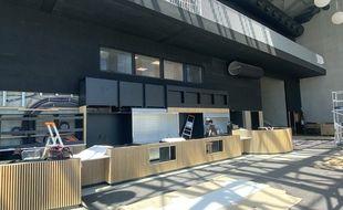 Le hall d'accueil du nouvel UGC des Bassins à Flot