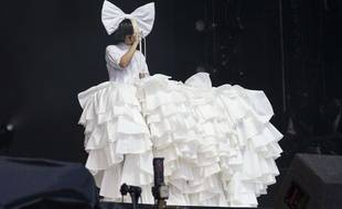 La chanteuse Sia.
