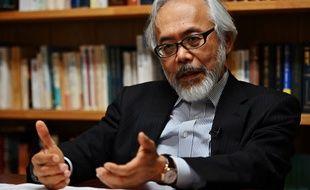 Takashi Takano, un des avocats de Carlos Ghosn au Japon, à Tokyo, le 21 mai 2019.