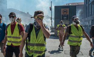 Des «gilets jaunes» à Toulouse, le 1er juin 2019.
