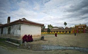 Des Tibétains arrêtés par les forces de l'ordre chinoises ont été exhibés avec des pancartes au cou indiquant leurs noms et les crimes dont ils sont accusés, selon des photos publiées samedi par l'organisation Free Tibet.