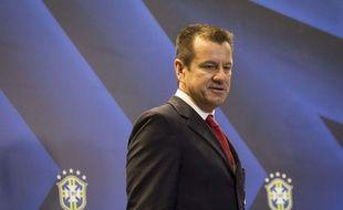 Le sélectionneur du Brésil Dunga le 22 juillet 2014.