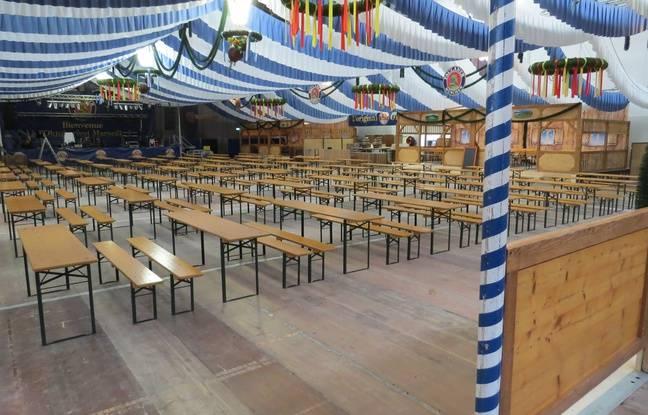 L'Oktoberfest Marseille s'apprête à accueillir 1500 personnes par jour au Parc Chanot pour fêter la bière selon la tradition bavaroise.