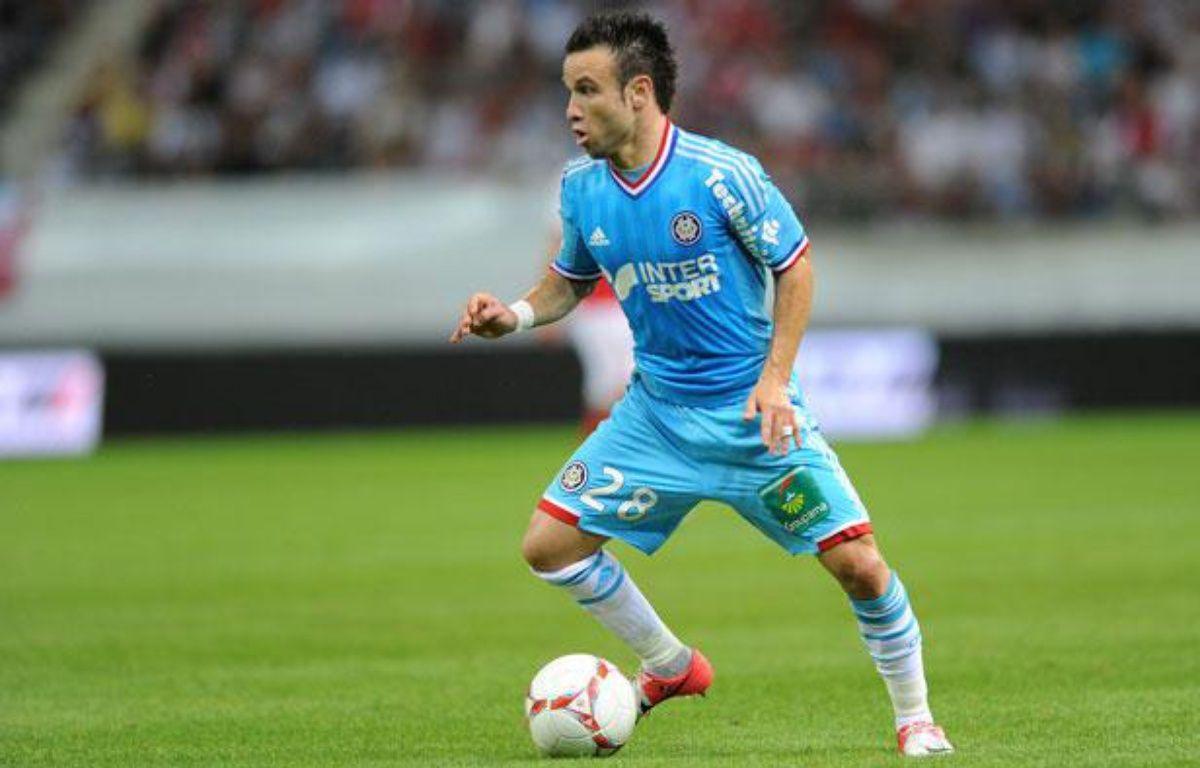 Le meneur de jeu marseillais Mathieu Valbuena, le 11 août 2012 à Reims.  – P.Emile/SIPA